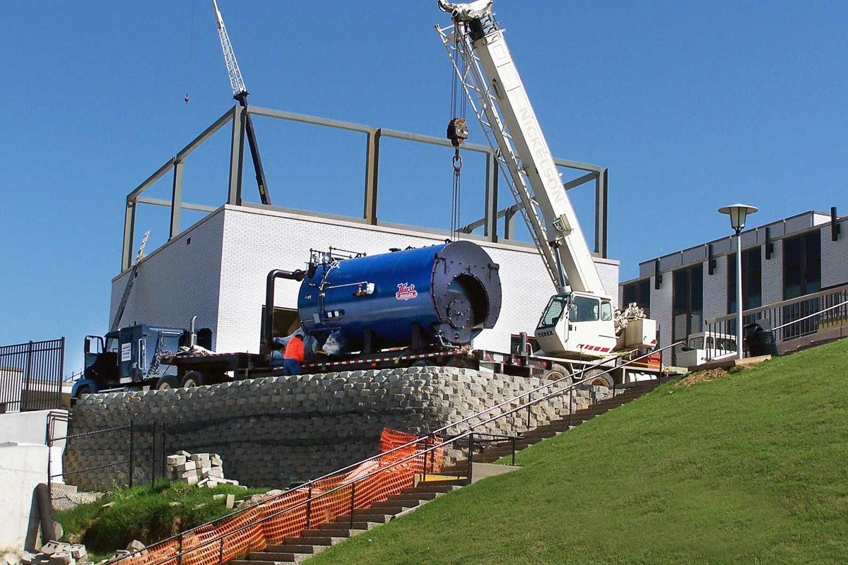 Hurst Boiler Installation Images