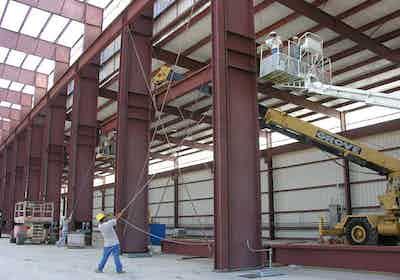 Crane-setup