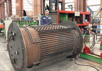 vertical-heat-fin-welding